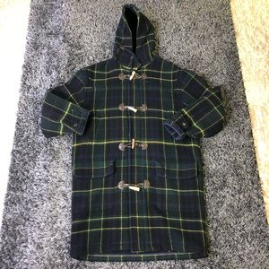 Vintage Nautica 100% wool trenchcoat